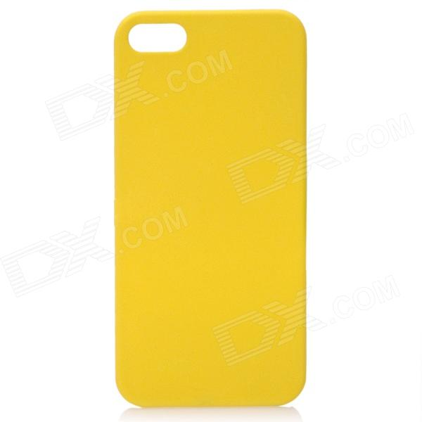 все цены на Protective ABS Matte Back Cover Case for Iphone 5 - Yellow