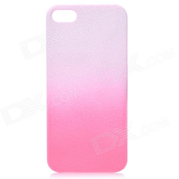 Protective ABS Raindrop Back Cover Case for Iphone 5 - Pink + White for nokia nokia lumia 930 n930