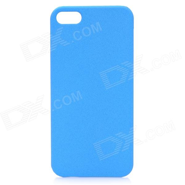 все цены на Protective ABS Matte Back Cover Case for Iphone 5 - Blue