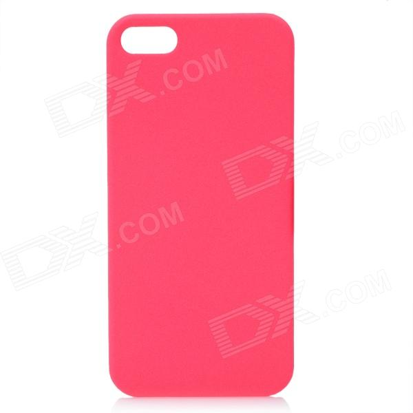 все цены на Protective ABS Matte Back Cover Case for Iphone 5 - Deep Pink