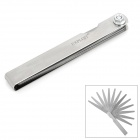 Exploit 22023 13 Blades Steel Feeler Gauge - Silver (0.05mm~1.0mm)