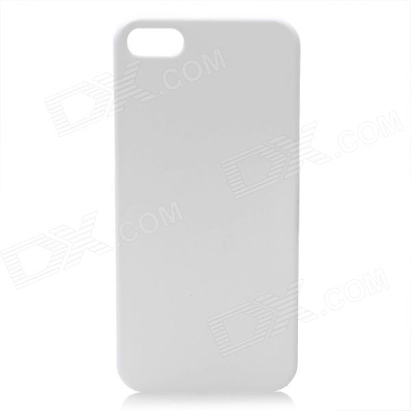 все цены на Protective ABS Matte Back Cover Case for Iphone 5 - White