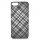 Protective ABS Back Cover Case for iPhone 5 - White + Black