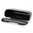 Multifunction Car Garbage Box Storage w/ Clip - Silver + Black