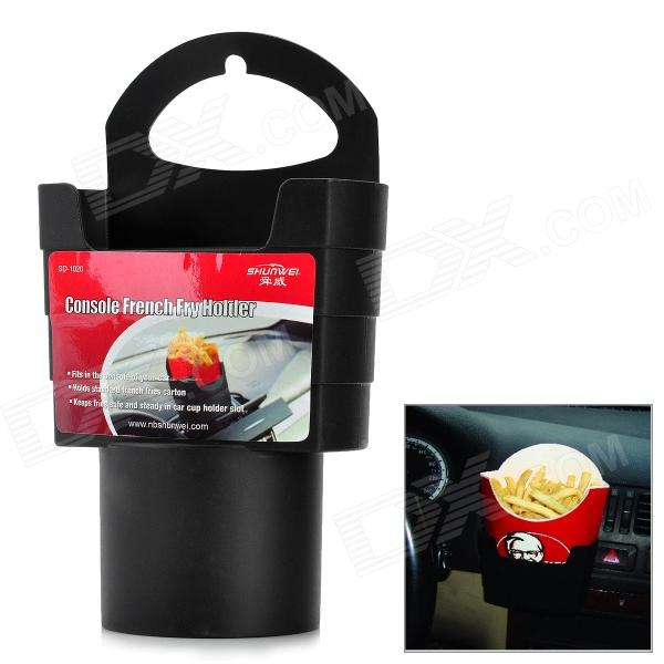 SHUNWEI SD-1020 Universal Car French Fry Holder - Black