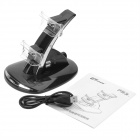 GTcoupe Stylish USB Powered Dual Wireless Controller Charger for PS3
