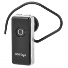 Courage GR-3G Rechargeable Stereo Bluetooth v2.1 Headset w/ Microphone - Black