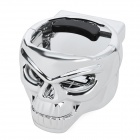 Universal Skull Shape Car Drink Cup Mount Holder - Silver
