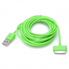 USB Data / Charging Cable for iPhone / iPad / iPod - Green (300cm)