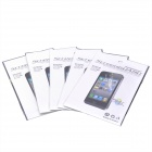 Protective Glossy Screen Protector Guard Film for Iphone 5 - Transparent (5 PCS)