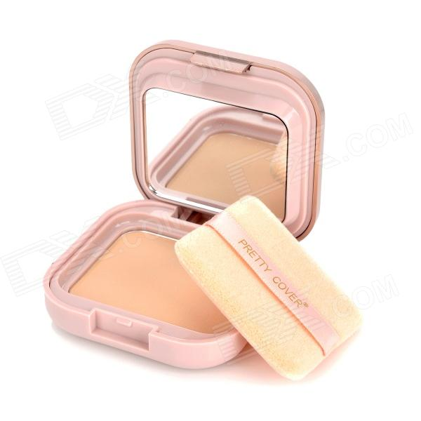 Cosmetic Makeup SPF25 Loose Powder w/ Mirror / Puff - Beige (12g) bob cosmetic makeup powder w puff mirror dark beige 03