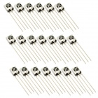 HX1838/PC638 DIY Universal Electronic Component Infrared Receiver - Silver (20 PCS)