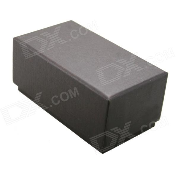 Paperboard Storage Box for Cufflinks - Brownish Black