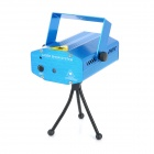 Night Sky's Stars 100mW Blue + 80mW Red Laser Stage Lighting Projector w/ Tripod (AC 100~240V)
