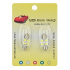 Festoon 31mm 2W 270lm 4-SMD 5630 LED White Light Car Reading / License Plate Lamp (2 PCS / 12V)