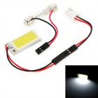 T10 / Festoon 23~35mm 2.5W 100lm LED White Light Car Reading / Roof / License Plate Lamp