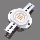 10W 400lm 583~586nm Integrated Yellow LED Light Bulb (3 Series and 3 in Parallel)
