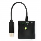 PS / PS2 to Xbox 360 USB Converter Cable Adapter - Schwarz