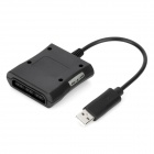 PS / PS2 to Xbox 360 USB Converter Cable Adapter - Black