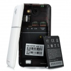 "X720D Android 4.1.1 WCDMA Bar Phone w/ 4.7"" Capacitive Screen, Wi-Fi, GPS and Dual-SIM - White"