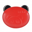 HOLI 049-01 Panda Leiter Shaped tragbare Spiegel - White + Black + Red