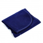 U-Style Air Inflatable Car Neck Pillow Cushion - Deep Blue