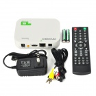 A10 Mini Android 4.0 Google TV Player w/ Wi-Fi / LAN / 512MB RAM / 4GB ROM / HDMI / AV - White