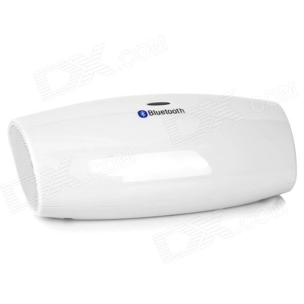 F-2012 Bluetooth v2.0 Dual-Channel Speaker - White
