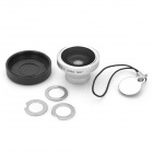 180 Degree Fish-Eye Lens for Iphone 4 / 4S - Silver