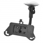Universal Car Swivel Suction Cup Holder for Iphone 5 - Black
