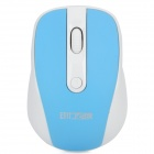 Dongli-E E-903 2,4 GHz 500 / 1000DPI Wireless Optical Mouse - Blue + White (1 x AA)