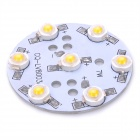DIY 7W 630LM 3500K Warm White LED Plate Module (DC 25~30V)