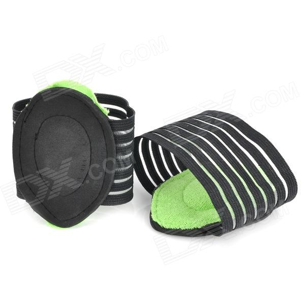 Protective Foot Care Pads - Black + Green (2 PCS) от DX.com INT