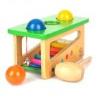 Educational Wooden Toy Sound Knocks Ping-Pong-Tisch - Multicolor