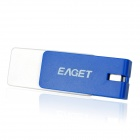 Eaget F30 Rotation USB 3.0 Flash Drive w/ Strap - Blue + White (8GB)