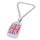 UK Flag Style USB 2.0 Flash Drive - Red + Blue + White (4GB)