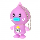 HD HD-903 Cute Garlic Doll Style USB 2.0 Flash Drive - Purple (16GB)