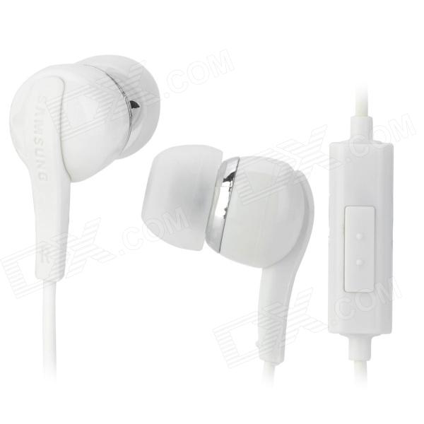 Stylish In-Ear Earphone w/ Microphone for Samsung Galaxy Note 10.1 GT-N8000 / P5100 / P3100 - White планшет samsung galaxy note 10 1 16gb gt n8000 black