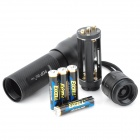 POP lite R34 220lm 3-Mode White Light Flashlight - Black (4 x AAA)