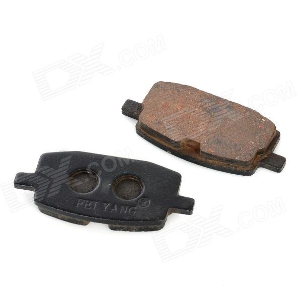 Steel Motorcycle Brake Pads for Yamaha JYM90 (2 PCS) dida bear brand quality women leather backpacks female school bags for girls rucksack small drawstring bagpack sac a dos gray