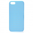 Protective Net Style ABS Back Case for Iphone 5 - Light Blue