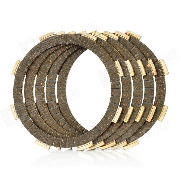Motorcycle Clutch Friction Disc Plate for Honda CG125 (5 PCS) - DXOthers<br>Made of high quality friction material - Inner diameter: 91mm - Outer diameter: 118mm - High friction coefficient stable performance - Long life span up to 200000km - Suitable for Honda CG125 - Contains 5pcs a pack<br>