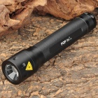 POP lite T72/B 160lm 2-Mode White Light Zooming Flashlight - Black (2 x LR14)
