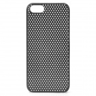 Protective Net Style ABS Back Case for iPhone 5 - Black