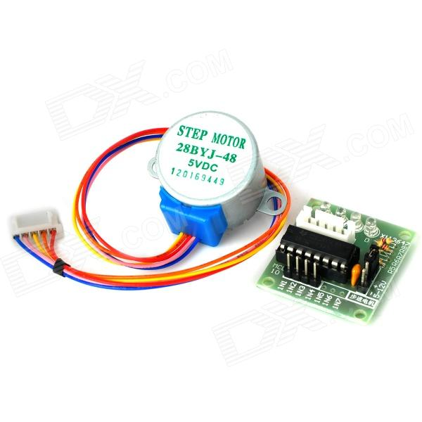 5V Stepper Motor + ULN2003 Driver Board Set fast shipping jm15 004 1 5hp dc motor for treadmill