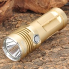 FandyFire ROOK Cree XM-L T6 635lm 3-Mode White Light Flashlight - Golden (3 x 14500 / AA)