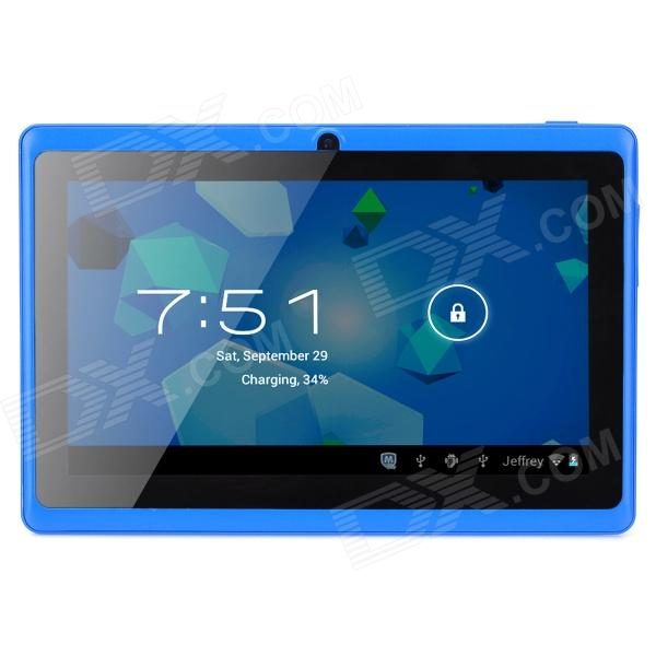 "A13 7.0"" Capacitive Screen Android 4.0 Tablet PC w/ TF / Wi-Fi / Camera / G-Sensor - Blue"