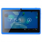 "A23 7.0"" Dual-core Android 4.2.2 Tablet PC w/ TF / Wi-Fi / Camera / G-Sensor - Blue"