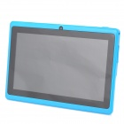 "A13 7.0"" Capacitive Screen Android 4.0 Tablet PC w/ TF / Wi-Fi / Camera / G-Sensor - Sky Blue"