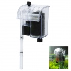 ALEAS XP-06 External Hanging Plastic Filter for Goldfish - Transparent